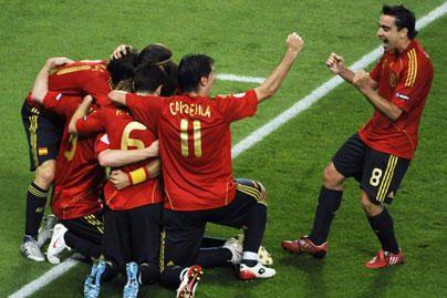 Europos čempionai – ispanai