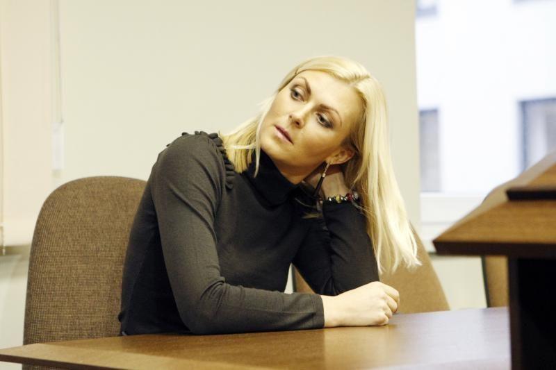 Dėl sukčiavimo nuteista E. Jackaitė: daug vilčių ir nepuoselėjau