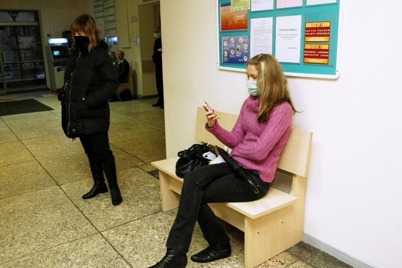Gripas pamažu traukiasi, bet epidemijos pabaiga dar neskelbiama