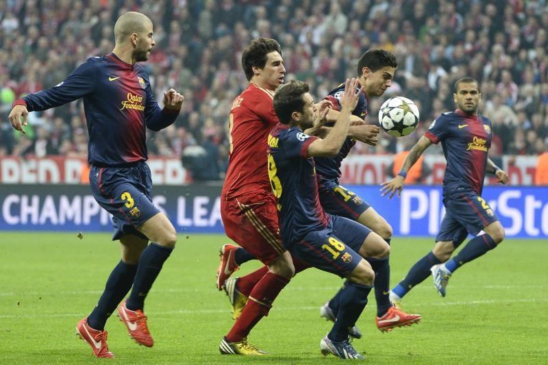 "Įspūdingai žaidęs ""Bayern"" sutrypė ""Barcelona"" ekipą (foto)"
