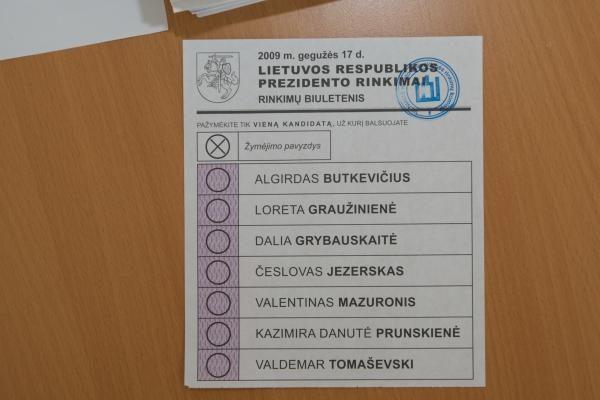 Išankstiniai prezidento rinkimai organizuoti geriau