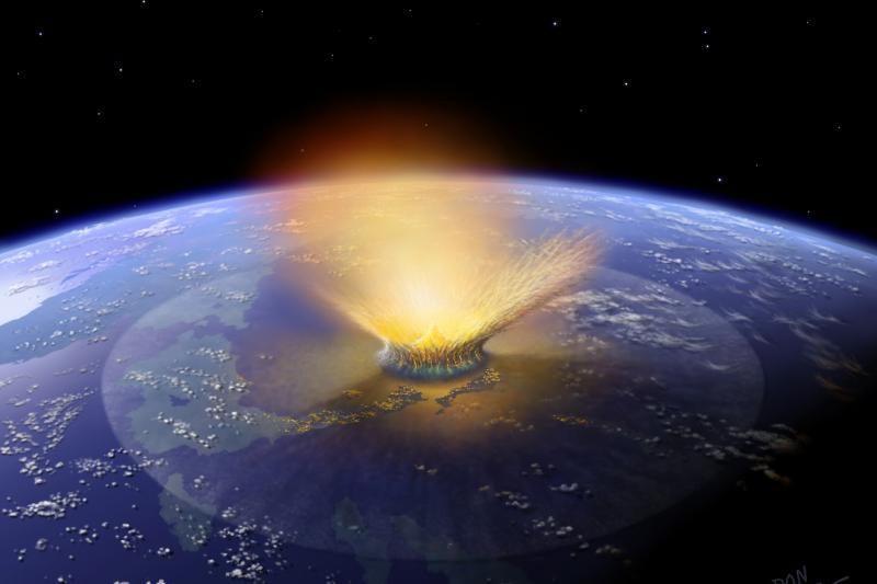 Virš Latvijos praskrido meteoritas, jis sudegė