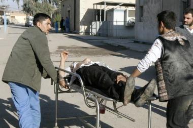 Irake įvykdytas stambus išpuolis