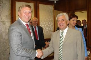 Atnaujinta partnerystės sutartis tarp Klaipėdos ir Kaliningrado