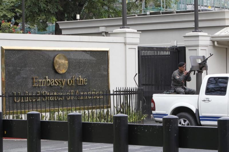 JAV konsulatą Libijoje rugsėjį puolė ir padegė ginkluota minia