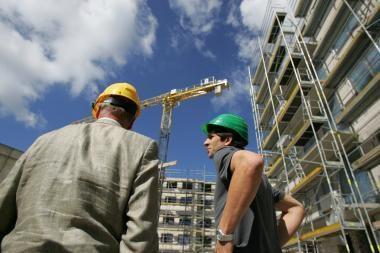 Statybininkai jau prieš pusmetį prognozavo nuosmukį