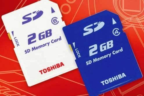 """""""Toshiba"""" išleis greičiausias pasaulyje SD korteles"""