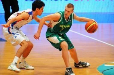 Jaunių krepšinio rinktinė – ketvirtfinalyje