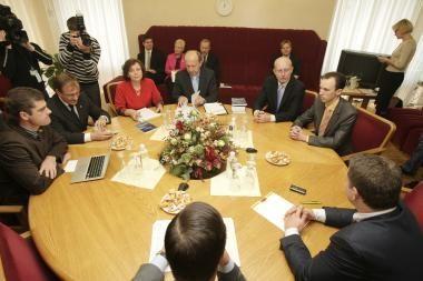 Koalicija žada imtis esminių reformų