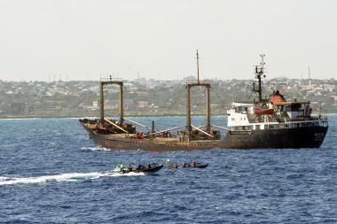 Laimikis pražudė laivo pragrobėjus