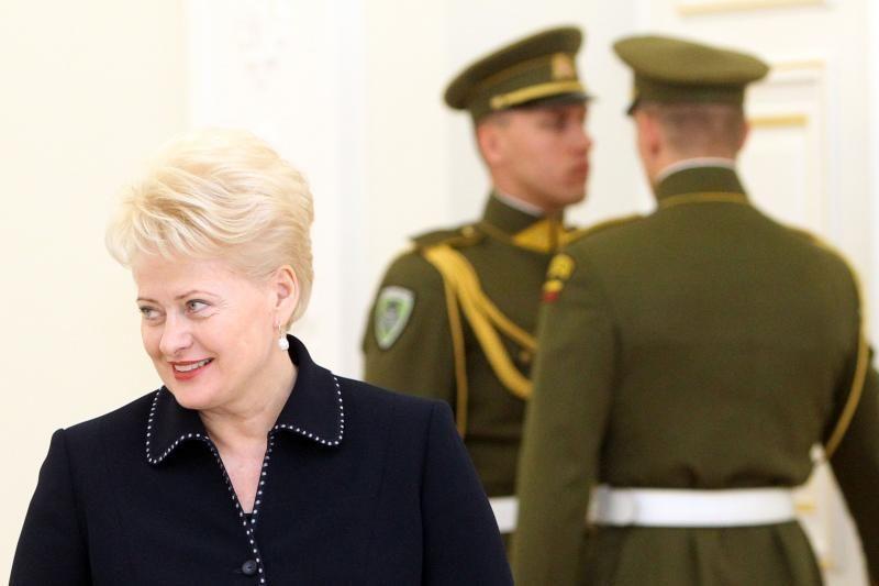 Populiariausių politikų sąraše lyderiauja prezidentė D.Grybauskaitė