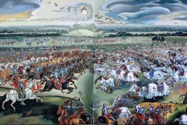 Seime eksponuojama Žalgirio mūšio 600 m. jubiliejui skirta paroda