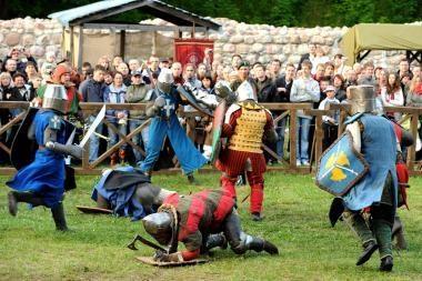 Trakuose - tradicinė Viduramžių šventė