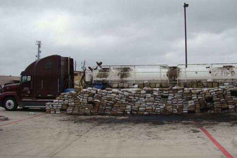 Marihuanos pilną vilkiką konfiskavo Teksaso greitkelių patruliai