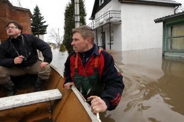 Pavasarinio potvynio padaryti nuostoliai siekia apie 9,8 mln. litų