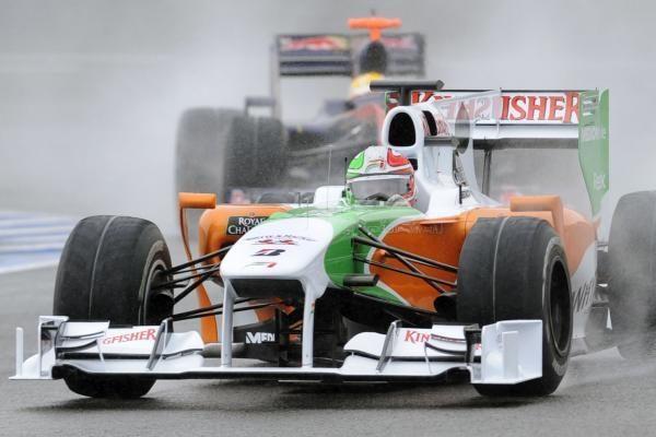 """""""Force India"""" pristatė naują F-1 bolidą"""