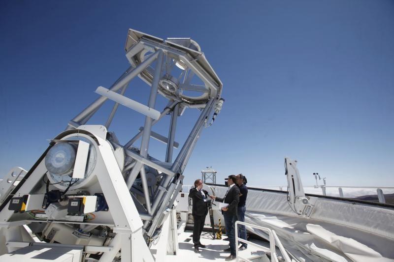 Kanarų salose – didžiausias Europoje Saulės teleskopas