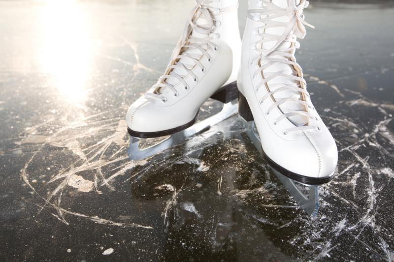"""Dailiojo čiuožimo žvaigždės padovanos ledo spektaklį """"Spragtukas"""""""