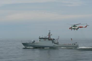 Klaipėdoje - Rusijos ir Lenkijos gelbėjimo tarnybų atstovai