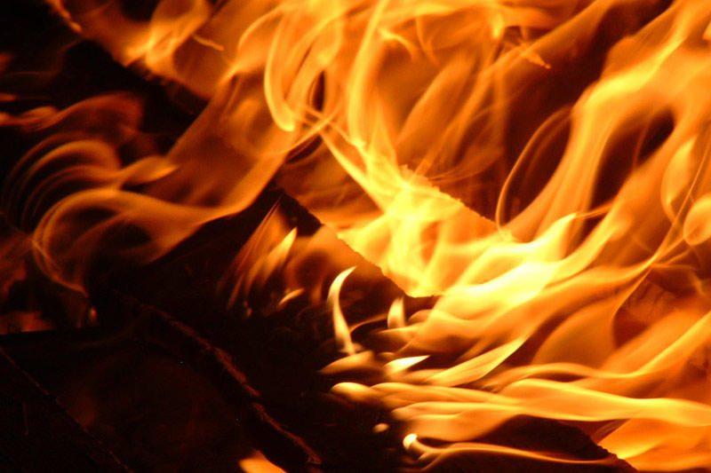 Ignalinos rajone per gaisrą žuvo vyras