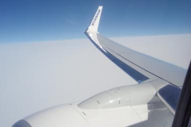 Los Andželo oro uoste paskelbtas pavojus dėl Tailando lėktuve rasto pranešimo apie bombą (papildyta)