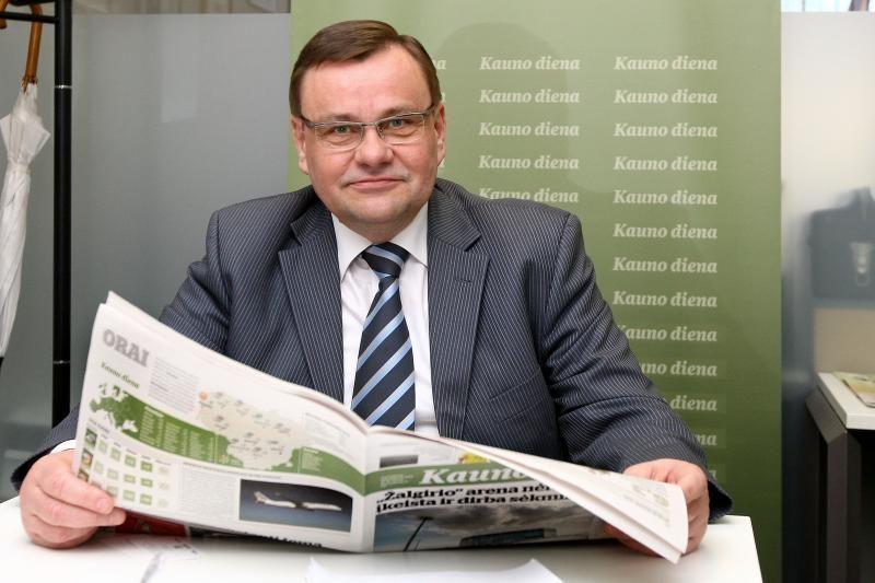 Seimo pirmininkas V. Gedvilas: ne paslaptis, kiek uždirbu