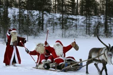 Kalėdų senis Kroatijoje nelaukiamas