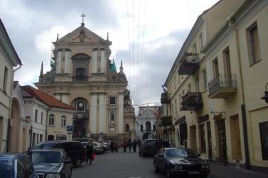 Sustabdytos neteisėtos statybos Vilniaus senamiestyje