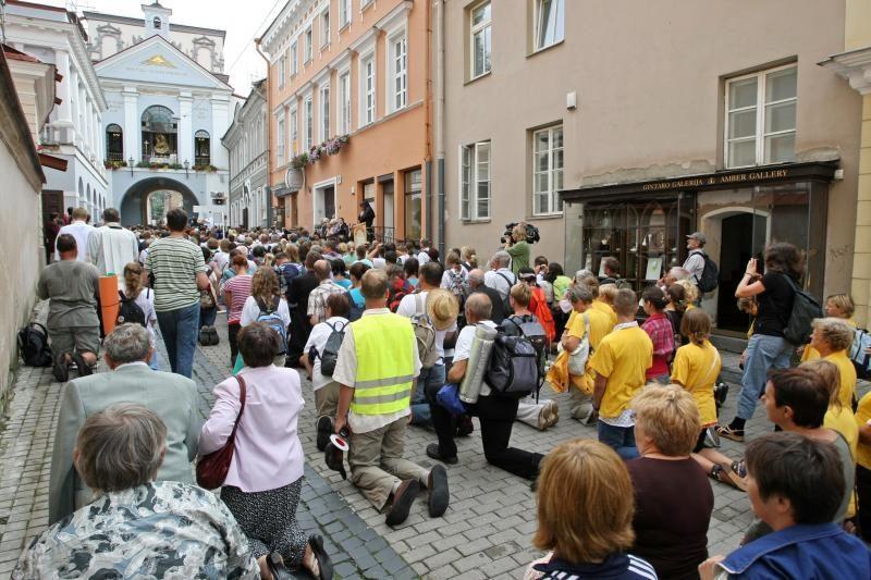 Lenkai Vilniuje statys šventyklą