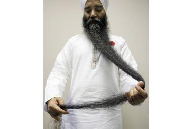 Ilgiausios pasaulyje barzdos ilgis – beveik 2 metrai