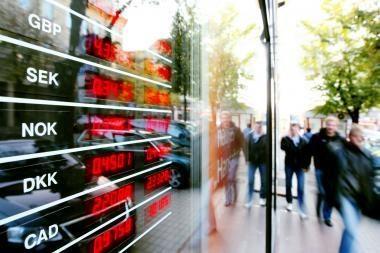 Pirmojo pusmečio bankų nuostolis sumažėjo 35 proc.