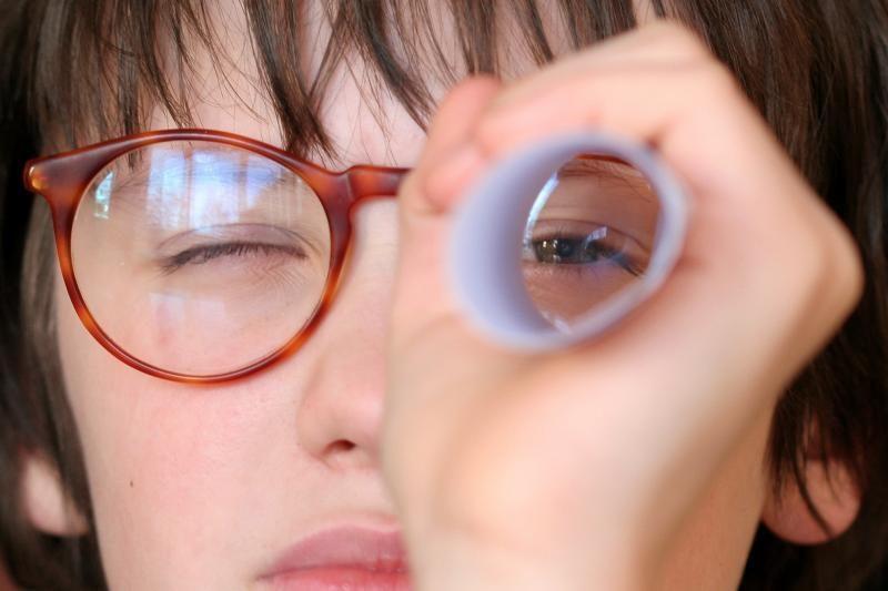 """Entuziastas pabandė sukurti savo """"Google Project Glass"""