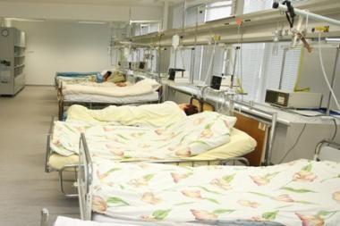 Gripo epidemija plinta į Šiaurės Lietuvą, ligoninėse - per 400 žmonių