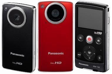 """""""Panasonic"""" pristatė mobilią HD vaizdo kamerą TA1"""