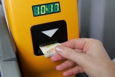 Už važiavimą be bilieto bauda Vilniuje: nuo 60 iki 100 litų