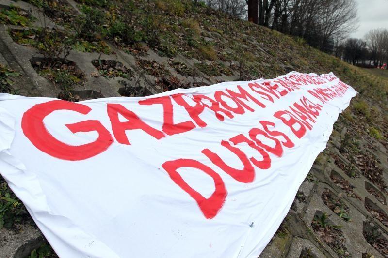 """Ministerija """"Lietuvos dujų"""" prašo pasiaiškinti dėl """"Gazprom"""""""