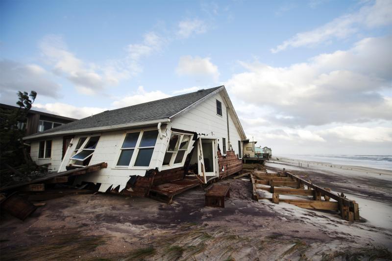 Mokslininkas: Lietuvoje uraganinis vėjas gali kilti dažniau