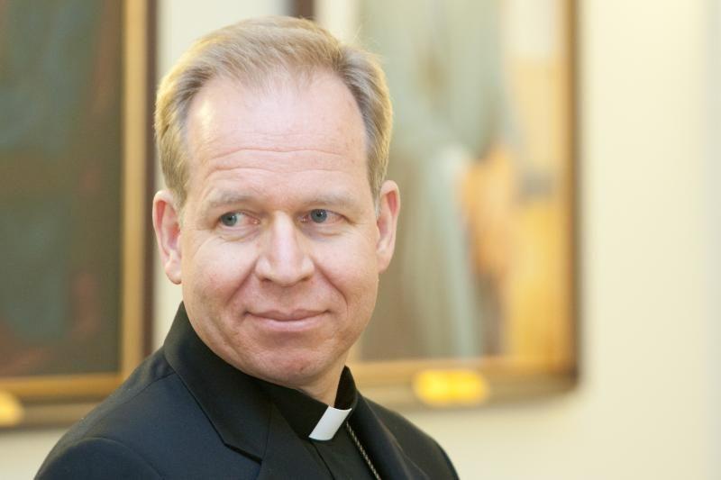 Vilniuje pareigas pradės eiti naujas arkivyskupas G. Grušas