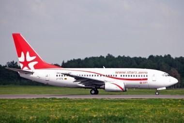 """Star1 Airlines"" skraidins į Miuncheną"