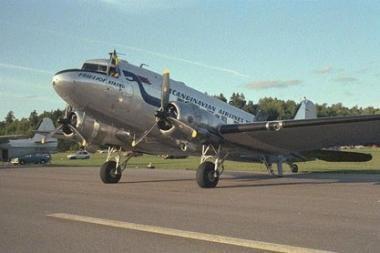 """Palangoje – Antrojo pasaulinio karo lėktuvas """"Douglas DC3 – Daisy"""""""