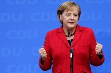 A.Merkel pripažįsta, kad šaliai gresia