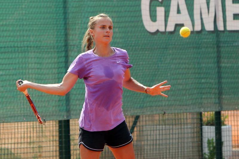 Lina Stančiūtė WTA reitinge pakilo 32 pozicijomis