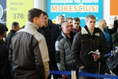 Lietuviai vėl ėmė naudotis oro uostais