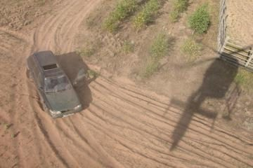 Pasieniečių sraigtasparnis išbaidė kontrabandininkus