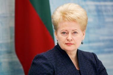 D.Grybauskaitė: 2012 metais galima tikėtis PVM tarifo spaudai permainų