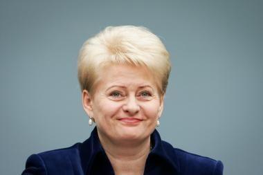 D.Grybauskaitė pritaria tiesioginiams merų rinkimams