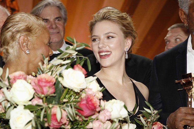 Scarlett Johansson vaidins režisieriaus A.Hitchcocko mūzą
