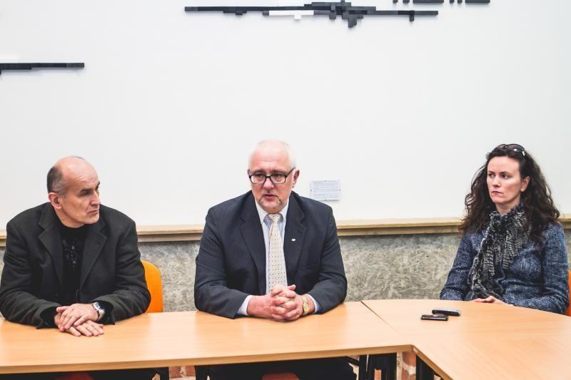 Ministras pažadėjo grąžinti Kolpingo kolegijai deramą vardą