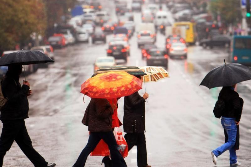 Artimiausios dienos Lietuvoje bus lietingos