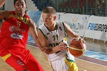 Jaunieji krepšininkai – jau pusfinalyje